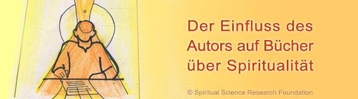 Einfluss des Autors auf Bücher über Spiritualität