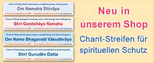 Chant-Streifen für spirituellen Schutz SSRF Shop