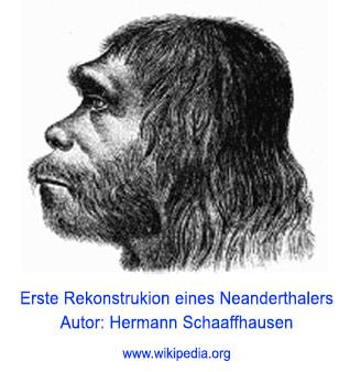 Erste Rekonstruktion eines Neanderthalers - Wie alt ist das Universum?