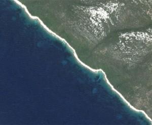 Kornkreise im Meer