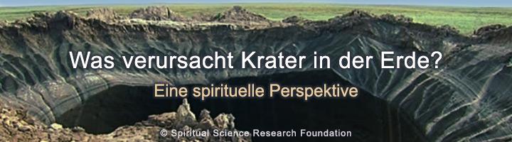 Ursache von Kratern – spirituelle-Perspektive