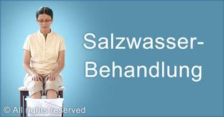 Salzwasser-Behandlung