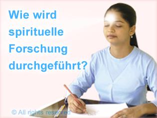 wie wird spirituelle forschung durchgefuhrt