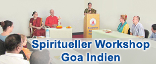 Spiritueller Workshop Goa Indien