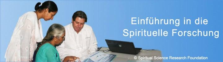 Einführung in spirituelle Forschung
