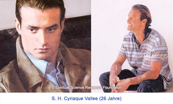 Der spirituelle Weg Seiner Heiligkeit Cyriaque Vallees (26 Jahre)