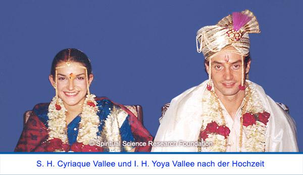 Der spirituelle Weg Seiner Heiligkeit Cyriaque Vallees - Nach der Hochzeit mit I. H. Yoya Vallee