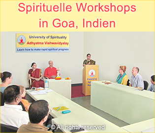 Spirituelle Workshops in Goa, Indien