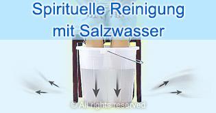 Spirituelle Reinigung mit Salzwasser