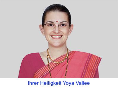 Spirituelle Erfahrungen Ihrer Heiligkeit Yoya Vallee