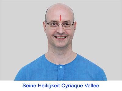 Spirituelle Erfahrungen von Seiner Heiligkeit Cyriaque Vallee