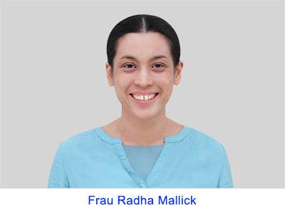 Spirituelle Erfahrung von Frau Radha Mallick