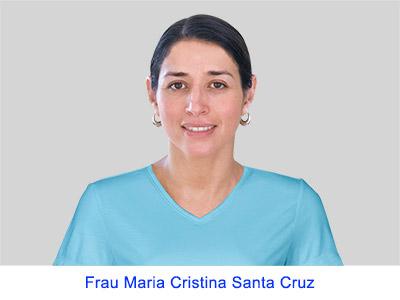 Spirituelle Erfahrungen von Frau Maria Christina Santa Cruz