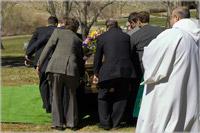 Geister auf Friedhöfen oder in Krematorien