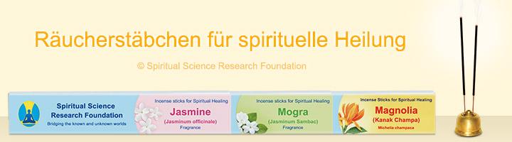 Räucherstäbchen für spirituelle Heilung - Landing