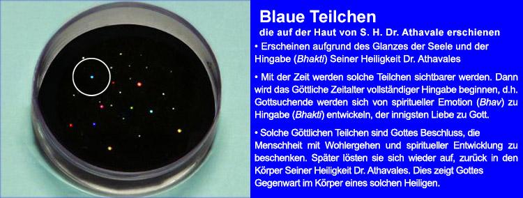 Blaue Göttliche Teilchen