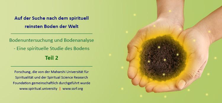 Auf der Suche nach dem spirituell reinsten Boden der Welt