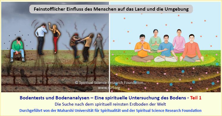 Eine spirituelle Untersuchung des Bodens - Teil 1