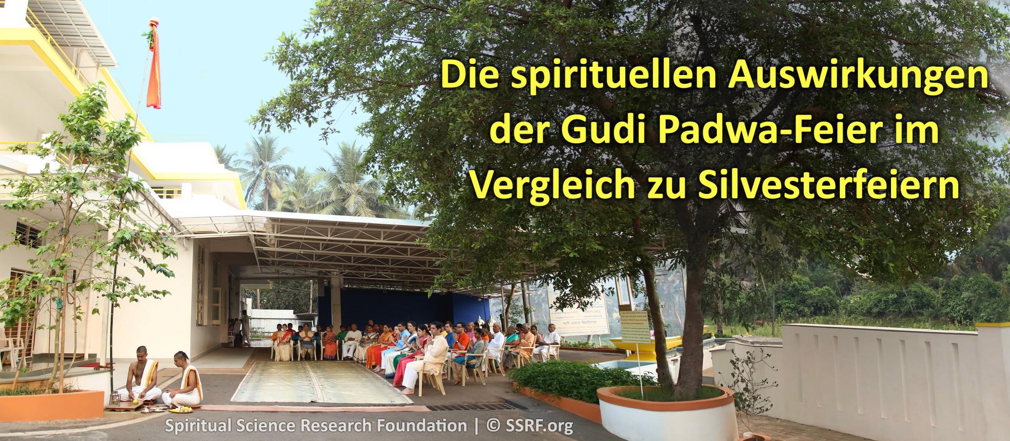 Die spirituellen Auswirkungen der Gudi Padwa-Feier im Vergleich zu Silvesterfeiern