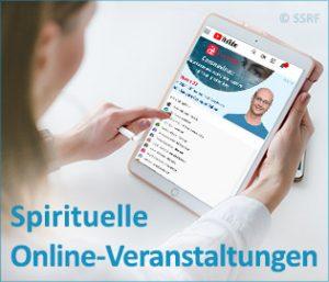 Spirituelle Online-Veranstaltungen - Workshops, Seminare, Vorträge