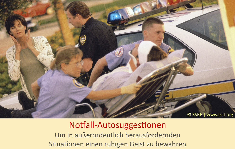 Notfall-Autosuggestionen – Ein umfassender Leitfaden
