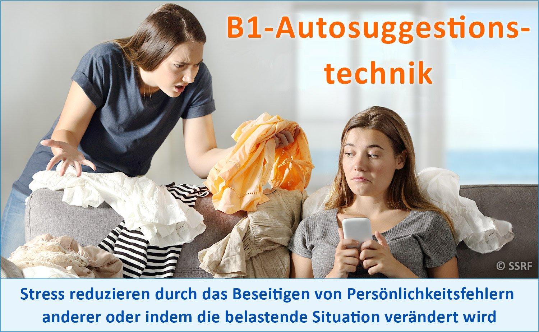 B1-Autosuggestionstechnik