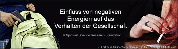 Einfluss negativer Energien auf das Verhalten der Gesellschaft