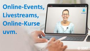 Spirituelle Online Events, Live-Streams, Online-Kurse (Seminare)