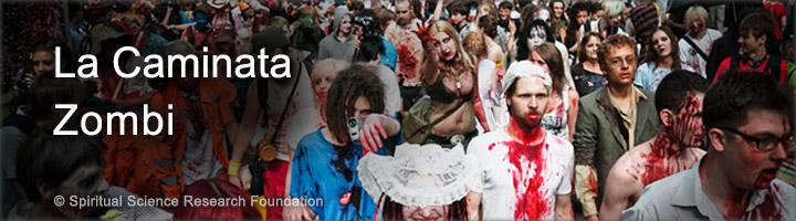 La marcha zombi y sus efectos espirituales