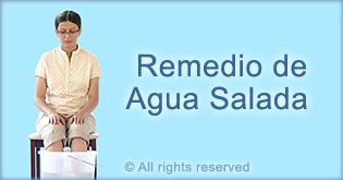 Salt water remedy