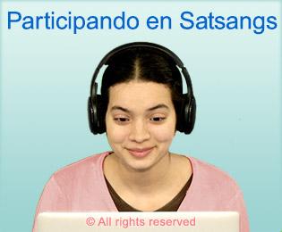 Participandi en Satsangs