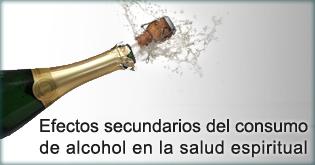 Efectos secundarios del consumo de alcohol en la salud espiritual