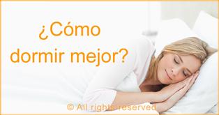 Como dormir mejor?