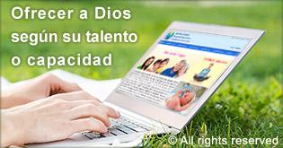 Ofrecer a Dios segun su talento o capicidad
