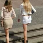 La ropa provocativa de mujer