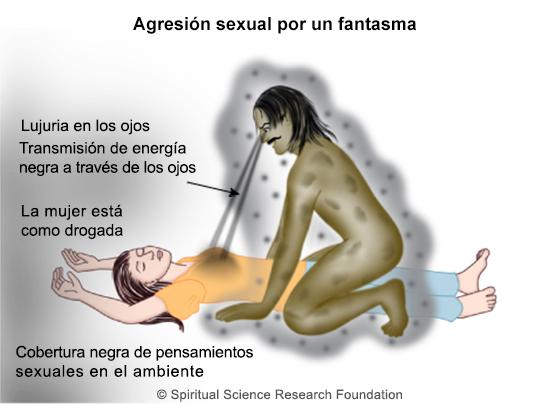 Espiritus abusan sexualmente