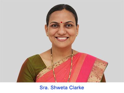 Experiencias espirituales de la Sra. Shweta Clarke