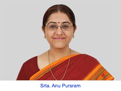 Experiencias espirituales de la Srta. Anu Pursram