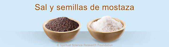Ritual para expulsar el mal de ojo – Sal y semillas de mostaza