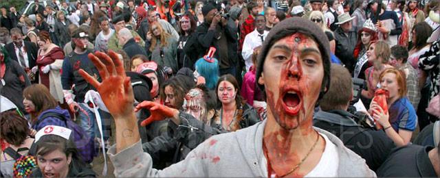 La Marche du Zombie –Les Effets Spirituels