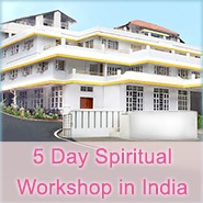 Ad for 5 day workshop in India