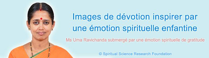 Images de dévotion par une émotion spirituelle enfantine