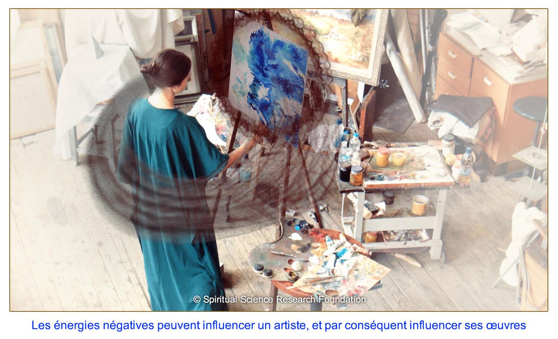 Peindre des portraits qui sont spirituellement purs