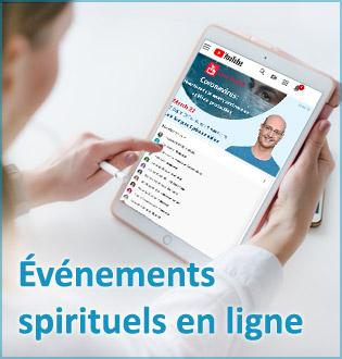 Événements spirituels en ligne