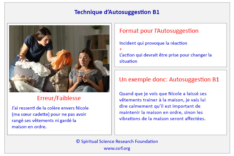 Technique d'Autosuggestion B1