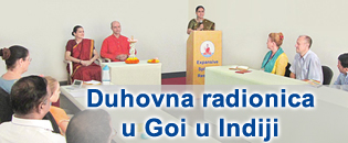 Duhovna radionica u Goi u Indiji