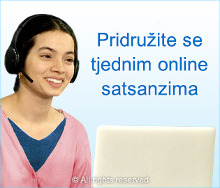 Pidruzite se tjednim online satsanzima
