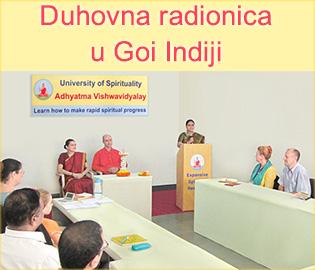 Duhovna radionica u Goi Indiji
