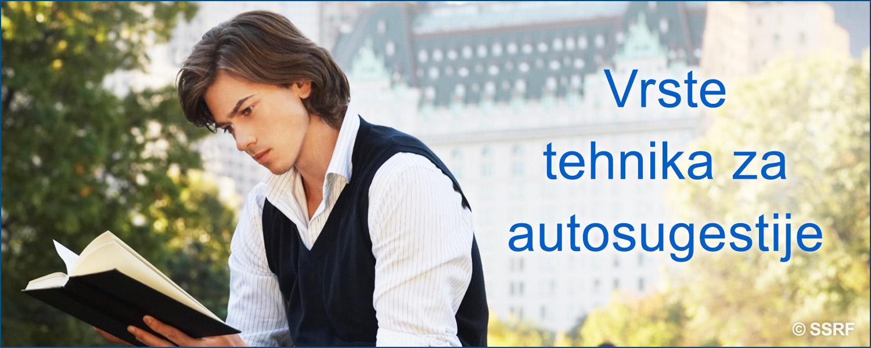 Vrste tehnika za autosugestija
