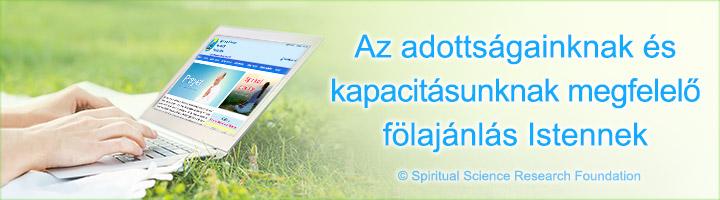 Az adottságainknak és kapacitásunknak megfelelő fölajánlás Istennek